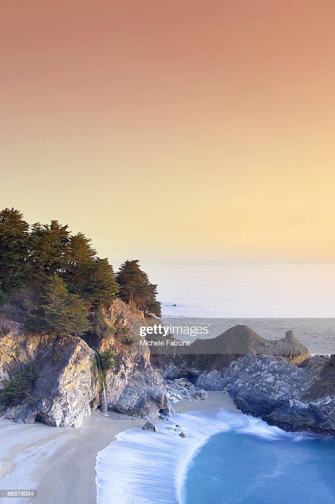 USA, California, Big Sur Pacific Coastline : Stock Photo