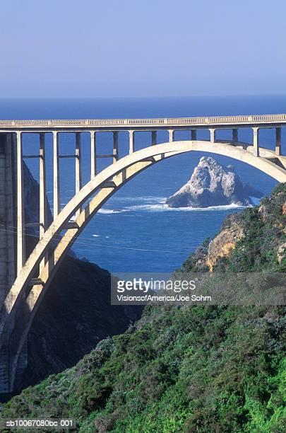 USA, California, Bixby Bridge in Big Sur