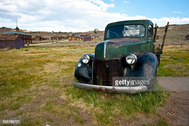 California Bodie State Historic Park Gold Mining Ghost Town Antique Pickup Truck