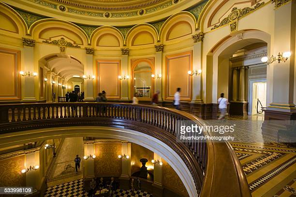 california capitol building - capital cities stock photos and pictures