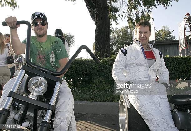 California Cart Trophy 2005 'Art of Cart' event in Long Beach United States on November 04 2005 Alex Quinn and Noah Blake at the California Cart...