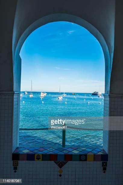 usa, california, channel islands, santa catalina island, avalon - catalina island stock photos and pictures