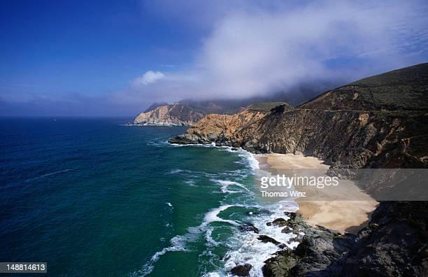 California coastline near Pacifica.