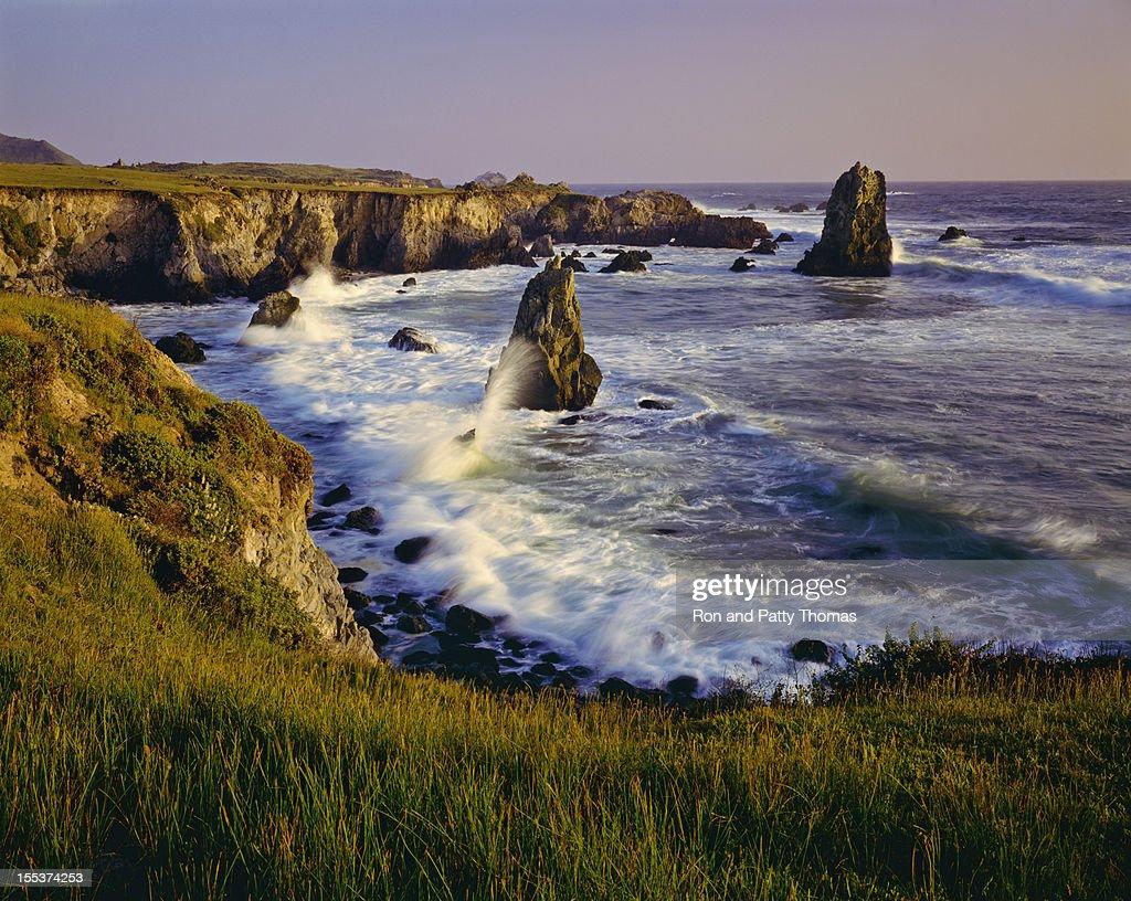 California Coastline  (P) : Stock Photo