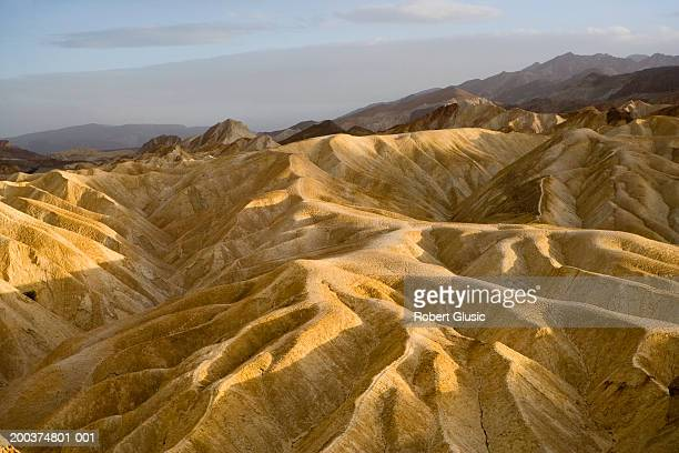 USA, California, Death Valley National Park, Zabriskie Point at sunset