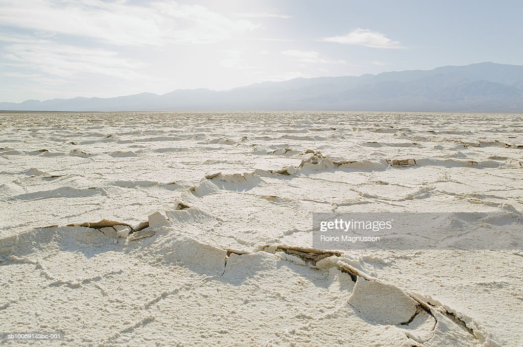 USA, California, Death Valley, salt flat : Stockfoto