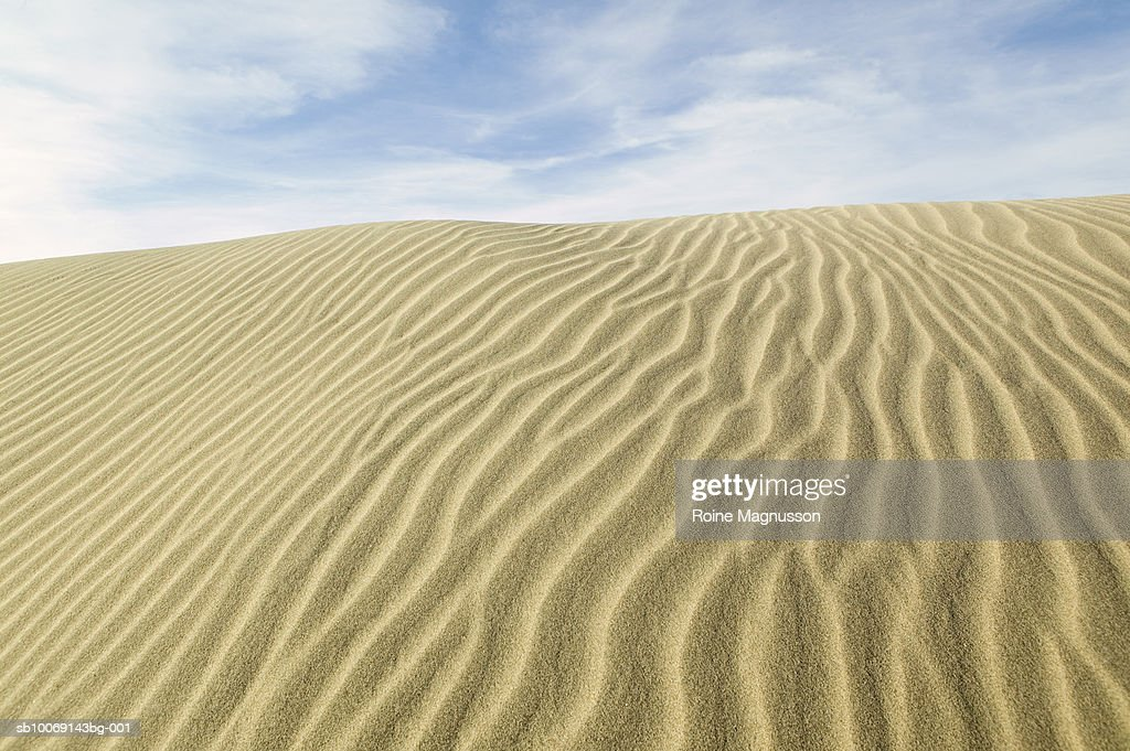 USA, California, Death Valley, sand dune : Stockfoto