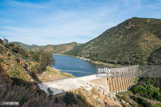 usa, california, escondido, lake hodges dam - escondido california stock photos and pictures