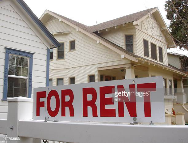 california for rent real estate sign - house rental stock pictures, royalty-free photos & images