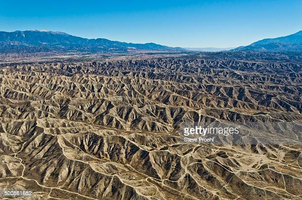 california geology - san gabriel mountains stock pictures, royalty-free photos & images