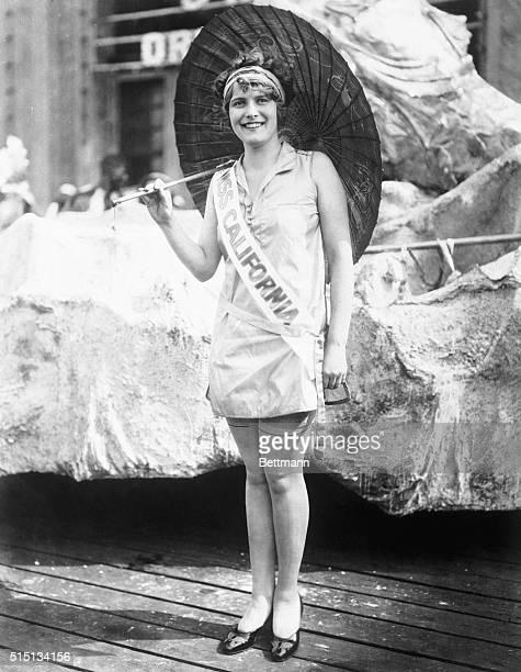 California Girl Wins Miss America Title. Atlantic City, New Jersey: Miss Fay Lanphier, blonde beauty from California who was crowned Miss America at...