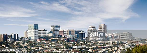 USA, California, Glendale, panoramic view
