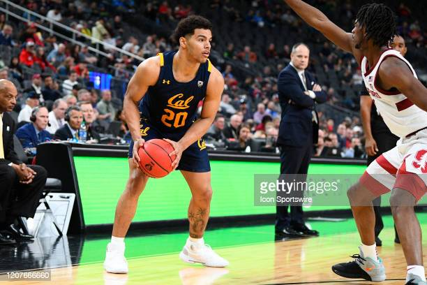 California Golden Bears guard Matt Bradley looks to attack the basket during the first round game of the men's Pac-12 Tournament between the Stanford...