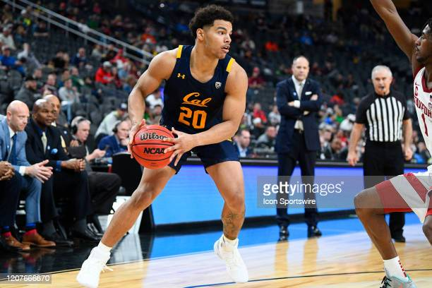 California Golden Bears guard Matt Bradley looks to attack the basket during the first round game of the men's Pac12 Tournament between the Stanford...