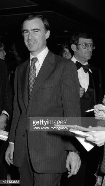 California Governor Jerry Brown attending the the Filmex black tie ball at the Century City Hotel after the movie premiere of 'FIST' on April 13 1978...