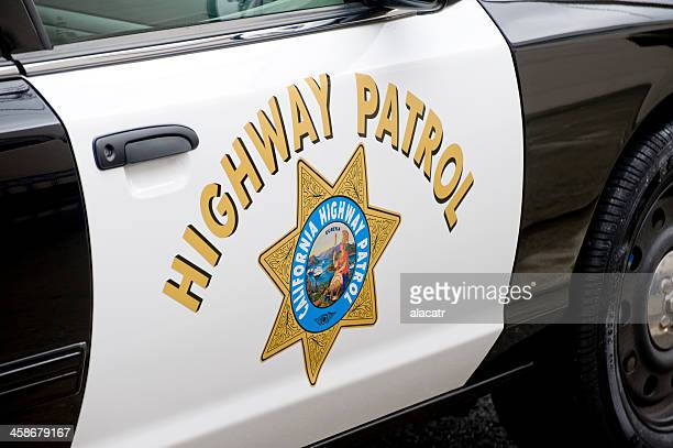 California Highway Patrol, Door and Logo.