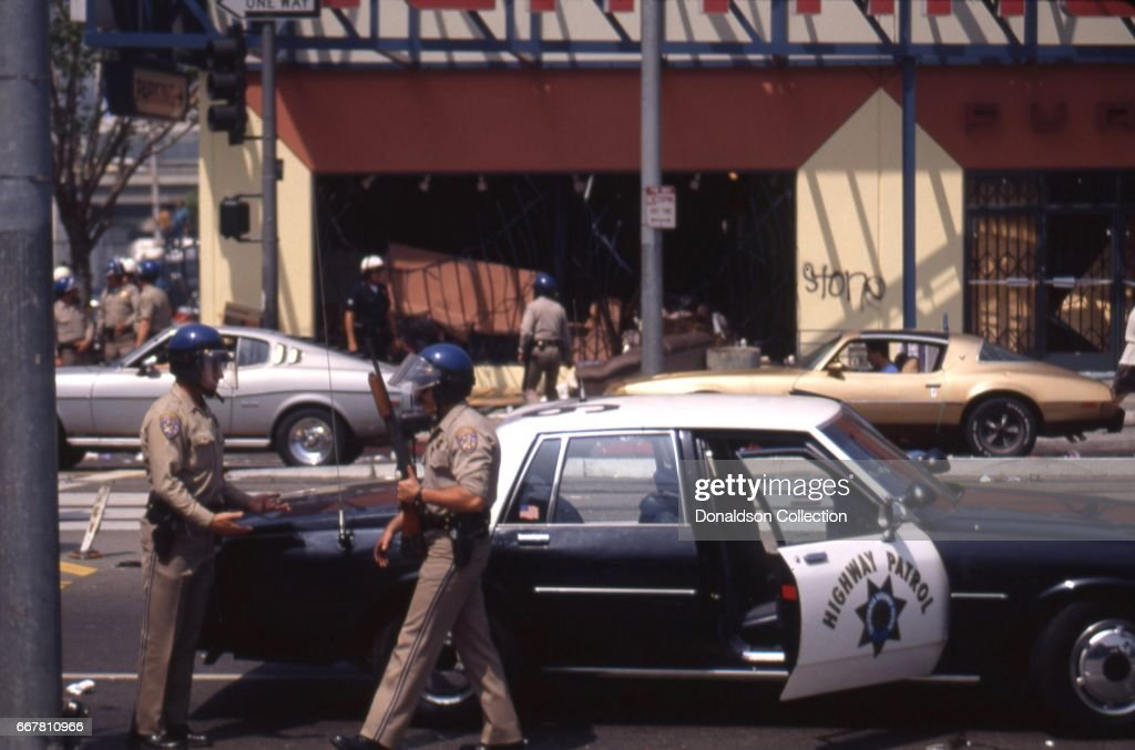 LA Riots in Reaction to the Rodney King Verdict : News Photo