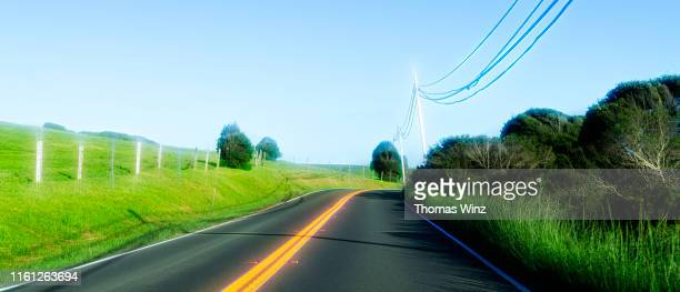 california highway springtime