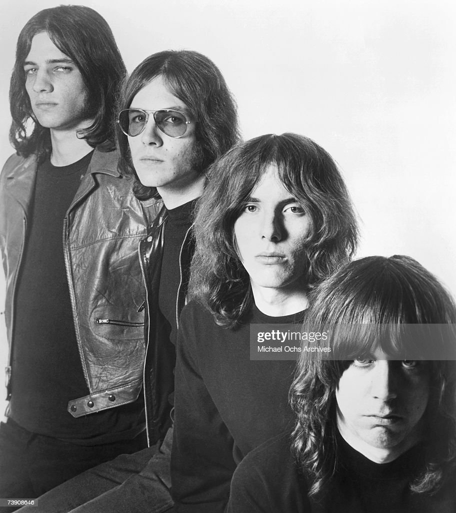 1969, California, Hollywood, Iggy and The Stooges, L-R: Scott Asheton, Ron Asheton, Dave Alexander, Iggy Pop (born James Osterberg, Jr.).