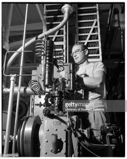 California Institute of Technology seminar 05 May 1952 Charles Miller Los AngelesRoy A Keir ModestoHoward McMahonRichard De SauerGeorge MooreRalph...
