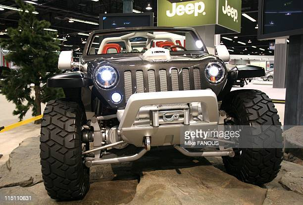 The Jeep Hurricane 4x4 Concept Stock Photos And Pictures Getty Images
