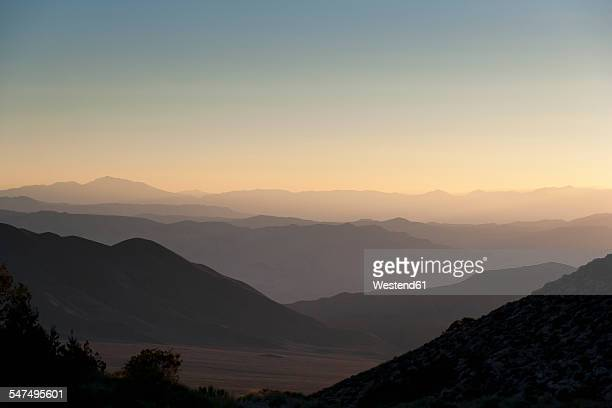 USA, California, landscape in Death Valley National Park