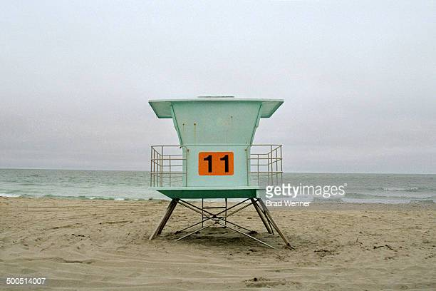 California Life Guard Hut