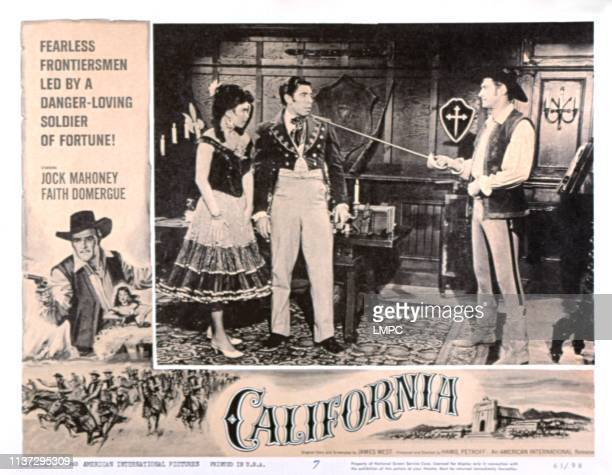 California lobbycard Faith Domergue Michael Pate Jock Mahoney 1963