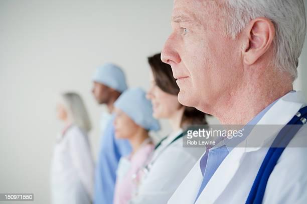 USA, California, Los Angeles, Five doctors