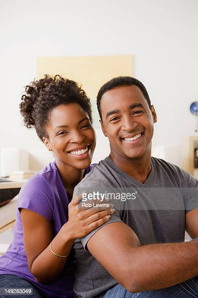 USA, California, Los Angeles, Portrait of smiling couple