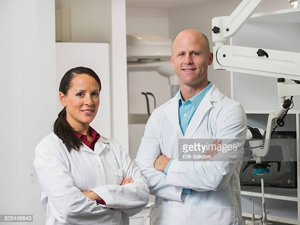USA, California, Mission Viejo, Portrait of dentists