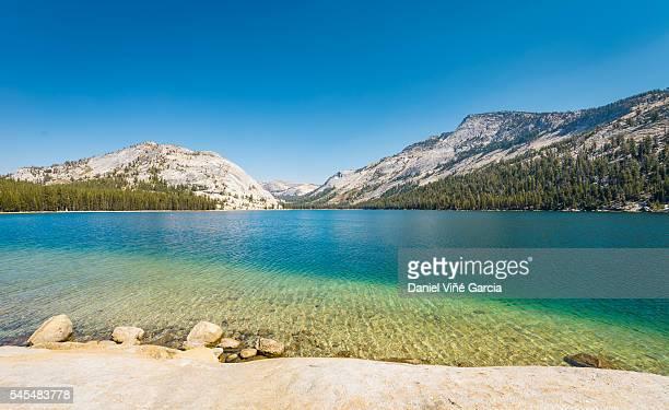 California, mountain lake in Yosemite National Park