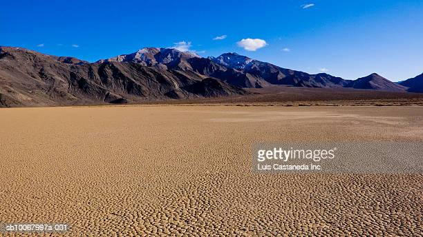 usa, california / nevada, death valley national park - lake bed stock photos and pictures