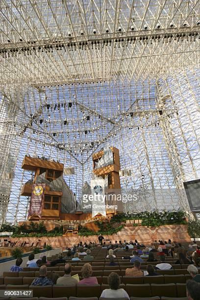 California, Orange County, Crystal Cathedral Interior.