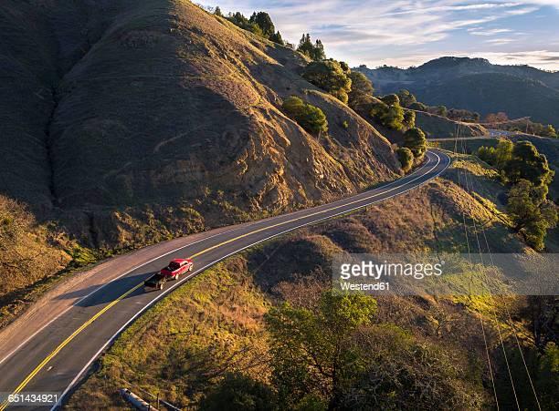 USA, California, Orr Springs Road