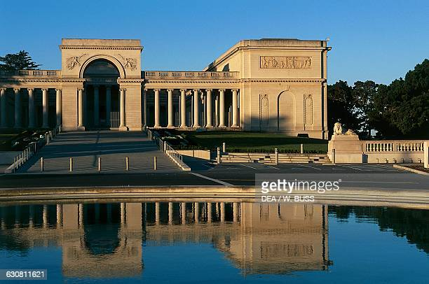 California Palace of the Legion of Honor Lincoln Park San Francisco California United States of America 20th century