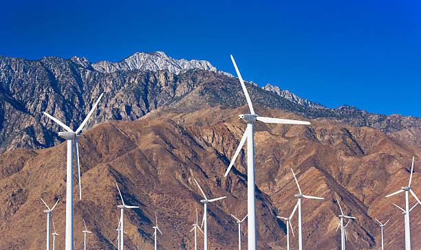 USA, California, Palm Springs, Wind Farm Wall Art