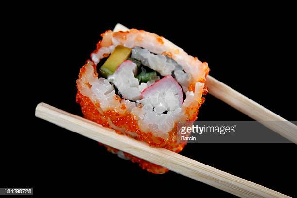 california roll - maki sushi stock pictures, royalty-free photos & images