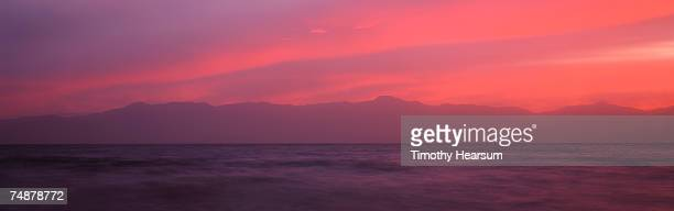 usa, california, salton sea, near north shore, sunset - timothy hearsum stock pictures, royalty-free photos & images