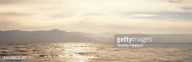 usa, california, salton sea, north shore, sunset - timothy hearsum stock pictures, royalty-free photos & images