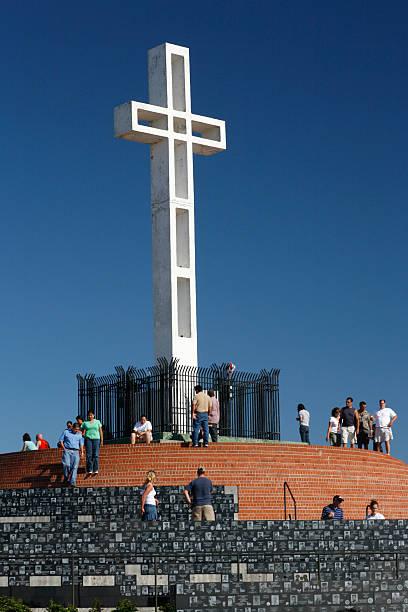USA California San Diego - Mount Soledad Memorial; Weil das Kreuz ...