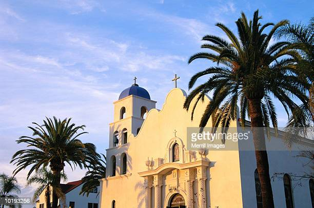 usa, california, san diego, old town state historic park, church of th - old town san diego stock pictures, royalty-free photos & images