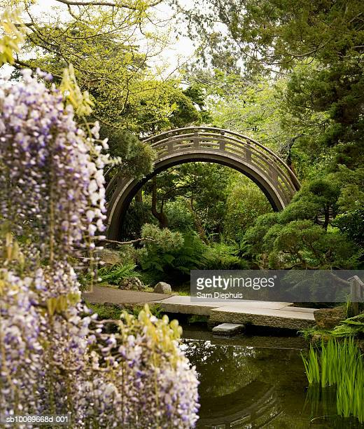 USA, California, San Francisco, Arch in Japanese Tea Garden