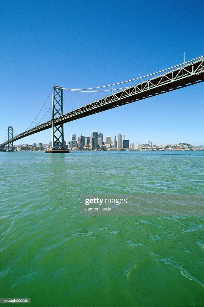 California, San Francisco, Bay Bridge : Stockfoto