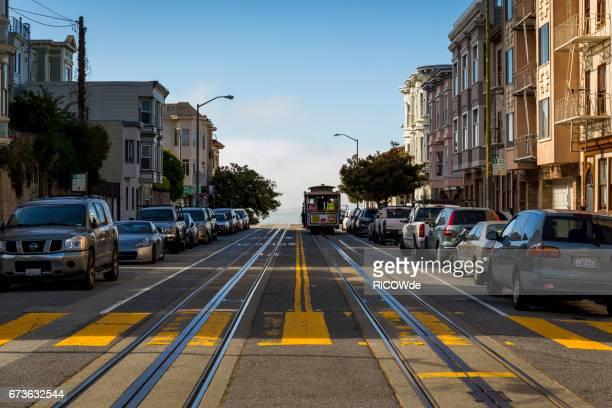 USA, California, San Francisco, Cable Car