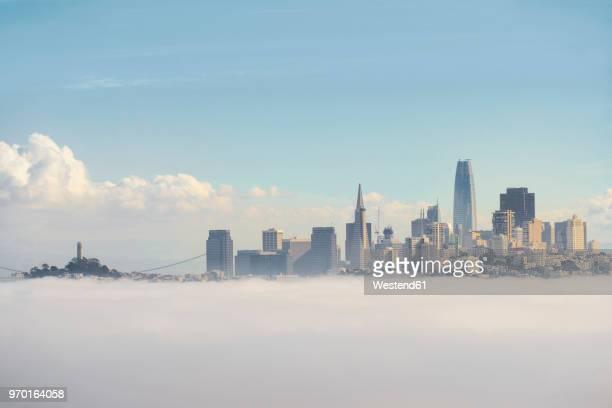 USA, California, San Francisco, fog