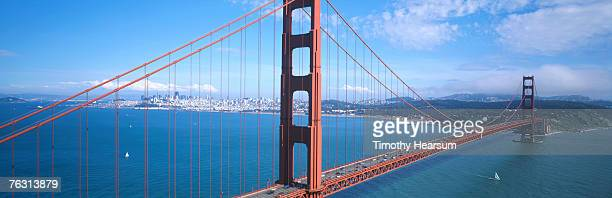 usa, california, san francisco, golden gate bridge - timothy hearsum stockfoto's en -beelden