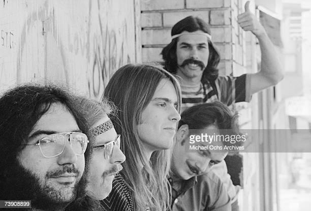 1968 California San Francisco Grateful Dead LR Jerry Garcia Phil Lesh Bob Weir Bill Kreutzmann Mickey Hart