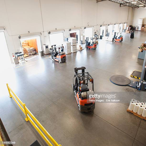 USA, California, Santa Ana, Warehouse interior