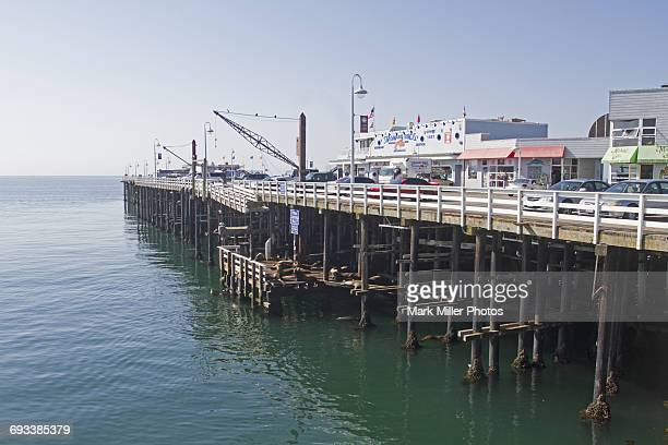 USA, California, Santa Cruz, The Wharf